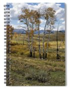 Lamar Valley In The Fall - Yellowstone Spiral Notebook