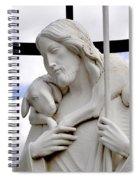 Lamb Of God Jesus Christ Torso Spiral Notebook