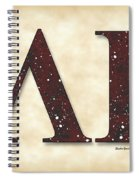 Lambda Iota Society Spiral Notebook