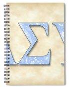 Lambda Sigma Upsilon - Parchment Spiral Notebook