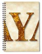 Lambda Upsilon Lambda - Parchment Spiral Notebook