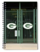 Lambeau Field - Green Bay Packers Spiral Notebook