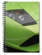 Lambopass8709 Spiral Notebook