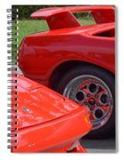 Lamborghini And Lotus Spiral Notebook