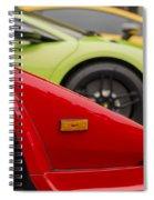 Lamborghini Countach Nose Spiral Notebook