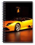 Lamborghini Spiral Notebook