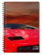 Lamborghini Starting Dream Spiral Notebook