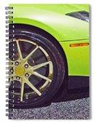 Lamborghini Verde  Spiral Notebook