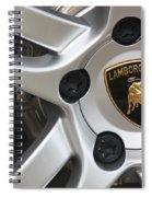 Lambowheel8679 Spiral Notebook