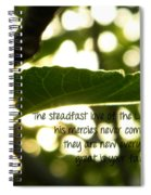Lamentations 3 Spiral Notebook