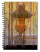 Lamp Light Glow Spiral Notebook