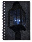 Lamp Post Blues Spiral Notebook