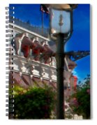 Lamp Post Spiral Notebook