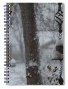 Lamplight At Dawn Spiral Notebook