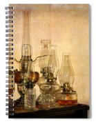 Lamps And Lace Spiral Notebook