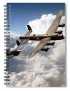 Lancaster And Spitfire  Spiral Notebook