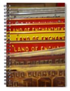 Land Of Enchantment Spiral Notebook