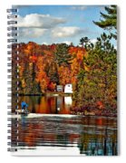Land Of Lakes Spiral Notebook