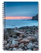 Land Of Sunrise Spiral Notebook
