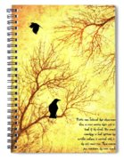 Land Of The Dead Spiral Notebook