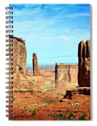 Land Of The Giants Spiral Notebook