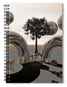 Land Of World 8624038 Racing Spiral Notebook