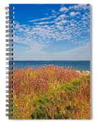 Land Sea Sky Spiral Notebook