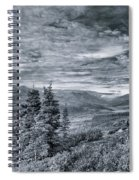 Land Shapes 18 Spiral Notebook
