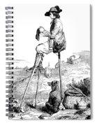 Landes Shepherd, Childrens Fairy Spiral Notebook