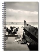 Landing At Normandy On D-day Spiral Notebook