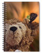 Landing Pad Bear Spiral Notebook