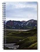 Landmannalaugar Iceland Spiral Notebook