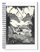 Landors Cottage Spiral Notebook