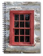 Landow Cabin Window Spiral Notebook