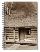 Landow Log Cabin 7d01723b Spiral Notebook