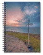 Lands End Cornwall Spiral Notebook