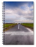 Lands End Start And Finish Line Spiral Notebook