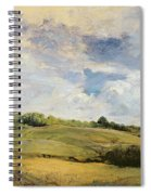 Landscape And Clouds  Spiral Notebook