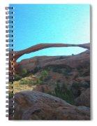 Landscape Arch 2 Spiral Notebook