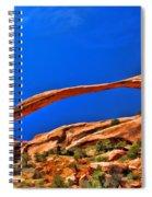 Landscape Arch Spiral Notebook