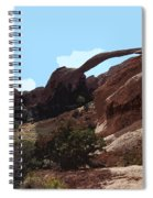Landscape Arch In Arches National Park Spiral Notebook