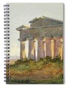 Landscape At Paestum Spiral Notebook