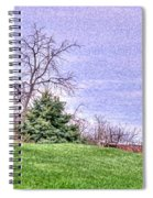 Landscape- Caboose - Little Red Caboose Spiral Notebook