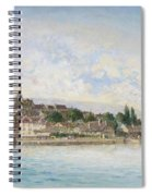 Landscape From Lake Leman To Nyon Spiral Notebook