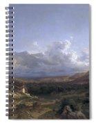 Landscape In Dauphine Spiral Notebook