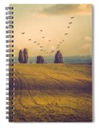 Landscape In France Spiral Notebook