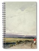 Landscape In Normandy, Traditionally Spiral Notebook