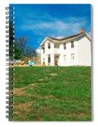 Landscape - Missouri Town - Missouri Spiral Notebook