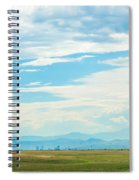 Landscape Of Denver Colorado Spiral Notebook