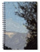 Landscape Of Fall Spiral Notebook